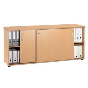 Modulo archivo de 2 estantes con puertas ofi z insumos for Estantes para oficina precios