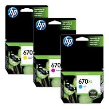 Cartucho Original HP 670XL CL