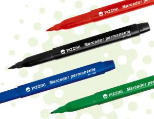 Marcador Permanente PIZZINI 1mm