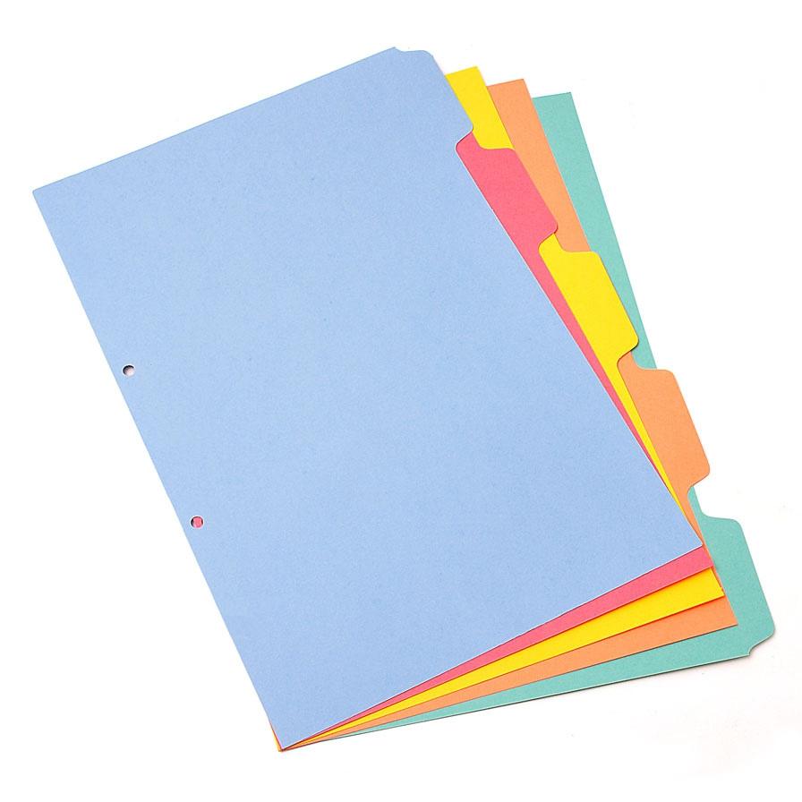 Separador cartulina color ofi z insumos para oficina y - Separadores oficina ...